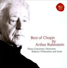 Best of Chopin by Artur Rubinstein New CD