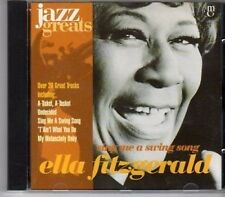 (CA134) Ella Fitzgerald, Sing Me A Swing Song - 1996 Jazz Greats CD No 005