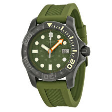 Victorinox Swiss Army Dive Master 500 Olive Green Men's Watch 241560 Retail $795