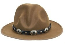 Oval Concho Happy Hat Style Wool Costume Party Halloween Pharrell Williams Style