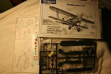 Encore Polikarpov I-3 1/72 scale airplane model kit #1014