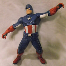 "Avengers 2012 CAPTAIN AMERICA 10"" Talking Action Figure Marvel, no shield, loose"