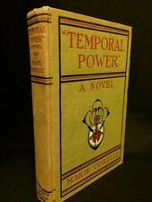 1906 TEMPORAL POWER MARIE CORELLI OCCULT FICTION GOTHIC VICTORIAN WITCHCRAFT