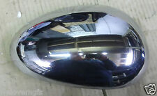 MK2 Rover 75 / MG ZT Chrome Drivers Off Side Wing Mirror Cover Skullcap Shape B