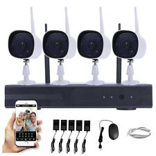 WIFI 720P Wireless NVR P2P HD Outdoor Home Video Security IP Camera CCTV System
