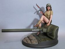 WWII PINUP ARMOUR ANNIE 1/8 SCALE RESIN KIT (DAVID WHITFORD SCULP)