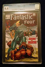 1969 Marvel Fantastic Four #93 CGC 9.4  Cream to Off White Pages