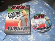 Ring of Honor Straight Shootin Konnan ROH PWG WCW TNA AAA WWE Lucha Underground