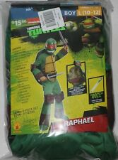 TMNT Teenage Mutant Ninja Turtles Deluxe Raphael costumes Boys Large 10-12
