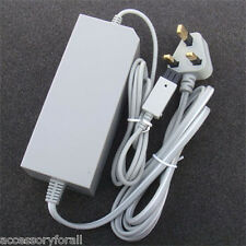 UK AC Wall Adapter Power Supply Replacement for Nintendo Wii Console Video Game