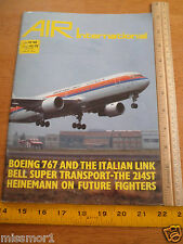 1982 Air International V23 #4 magazine military Boeing 767 Bell super Transport