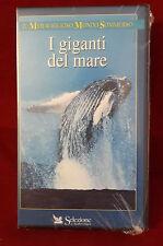 B2/ FILM VHS I GIGANTI DEL MARE - SIGILLATO