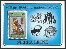 Sierra Leone - Jahr des Kindes postfrisch 1979 Block 1 Mi. 580