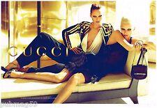Publicité Advertising 2012 (2 pages) Haute Couture Gucci