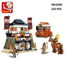 Sluban B0263 Three Kingdoms Castle General Building Block Toy Bricks Toys