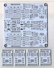 Stereo Active 2way Crossover Filter PCB DIY NEW