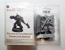 Forgeworld 2016 Event Only Forge World Praetor in Cataphractii Armour