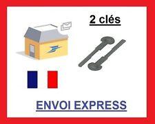 *2 clés d'extraction de démontage façade autoradio PEUGEOT 106 306