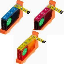 3 PK Compatible COLOR Ink Cartridge C/M/Y for Lexmark 100XL100 XL