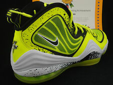 Nike Air Penny V HL, Highlighter Pack, Volt / Black, Size 10.5