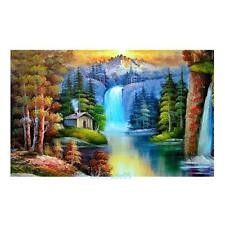 Autumn Forest 5D Diamond DIY Embroidery Cross Stitch Painting Home Decor Craft
