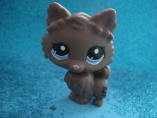 ORIGINAL Littlest Pet Shop 2449 BROWN POMERANIAN DOG Shipping with Polish