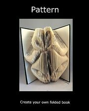 Bookfolding PATTERN to create your own folded book art Christma/wedding Bells