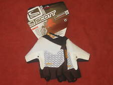 NEW Scott Ladies Mitts Fingerless MTB Bike Cycling Gloves Womens Brown FREE P+P