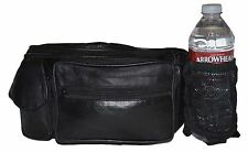 FANNY PACK CELL PHONE WATER BOTTLE HOLDER NEW STYLE BLACK GREAT GIFT IDEA