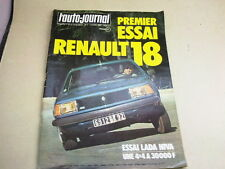 L AUTO JOURNAL - N° 7  - ANNEE  1978  *