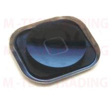 NUOVO Originale per iPhone 5 Nero Casa Pulsante Menu con gomma + parte di contatto