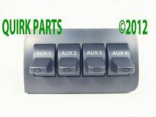 11-15 Ford F250 350 Dash Upfitter Auxiliary Four Panel Accessory Switch OEM NEW