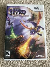 The Legend of Spyro Dawn of the Dragon (Nintendo Wii, 2008) COMPLETE SET ~RARE ~