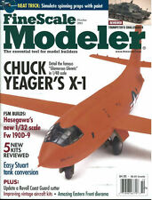 FINE SCALE MODELER OCT 03 YEAGER BELL X-1 RIGHT STUFF_Fw190D_M5 STUART_USCG TANE