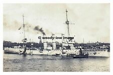 rp17617 - German Navy Warship - SMS Bremen , built 1904 - photo 6x4