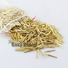 1000PCS NEW DENTAL LAB BRASS DOWEL PINS #2 MEDIUM MOLD SUPPLIES