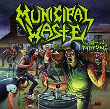 "Municipal Waste ""The Arte De Fiesta"" CD - NUEVO"