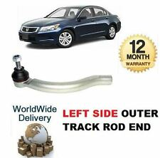 FOR HONDA ACCORD 2003-2008  NEW  1x OUTER LEFT SIDE LH TRACK TIE RACK ROD END