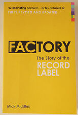 FACTORY / THE STORY OF THE RECORD LABEL / REVISED UPDATED EDITION / 2009