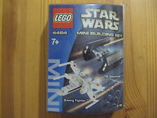 LEGO Star Wars Tie Advanced + X-wing Fighter 4484. COLLECTOR 2003 ! NEW SEALED !