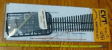 Central Valley HO #2781 Curvable Switch kit #7 Left Hand Code 83 / No Rail