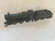 00 GAUGE KITBUILT GWR 2-6-0 LOCOMOTIVE & TENDER - MOTOR RUNS - NEEDS FINISHING