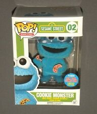POP! Vinyl Cookie Monster NYCC Exclusive Sesame Street FUNKO 2015 Flocked