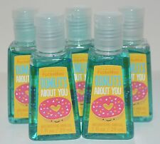 5 BATH & BODY WORKS DONUTS ABOUT YOU POCKETBAC ANTI BACTERIAL HAND GEL SANITIZER