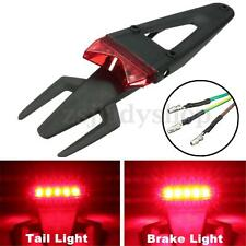 Universal Motocross Enduro Trails Dirt Pit Bike Fender LED Brake Stop Tail Light