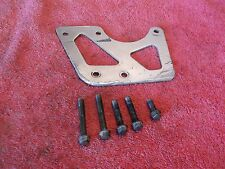 1997 SUZUKI RM80 CHAIN GUIDE OUTER PLATE AND BOLTS