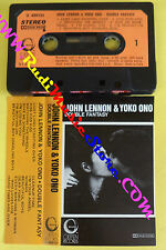MC JOHN LENNON & YOKO ONO Double fantasy italy GEFFEN U 499131 no cd lp dvd vhs