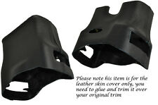 BLACK STITCH STEERING SHROUD LEATHER COVER FITS PORSCHE 986 BOXSTER&CARRERA 996