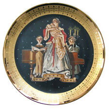 """Royal Cornwall """"At Locksley Hall""""The Four Faces of Love"""" Plate NEW in Box"""