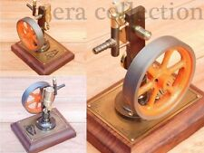 Vintage Retro Styl live Steam Engine Model Handmade Working Collectiable Engine